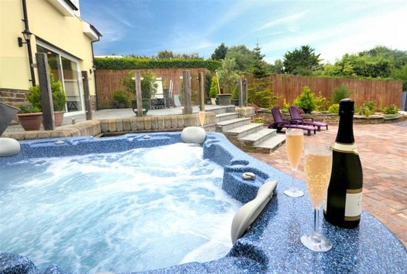 Hot Tub At This Cottage Bude