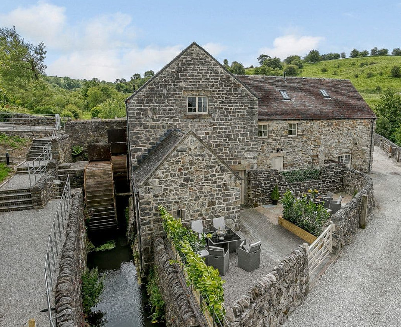 The Water Mill, Bradbourne, near Ashbourne - Derbyshire
