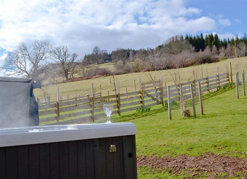 Westervale In Near Crieff Perthshire Is A Hot Tub Holiday