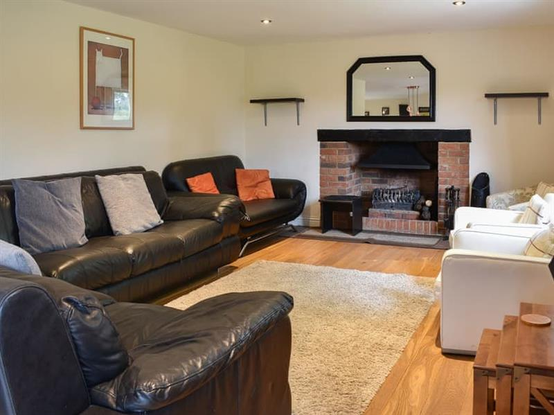 Living room in Ashdene Cottage, South Marston