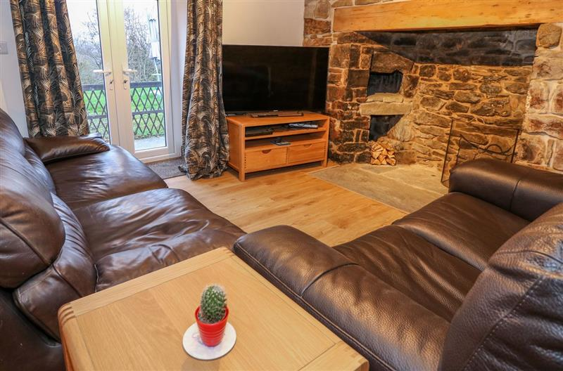 Living room in Crooked Hill Cottage, Ammanford