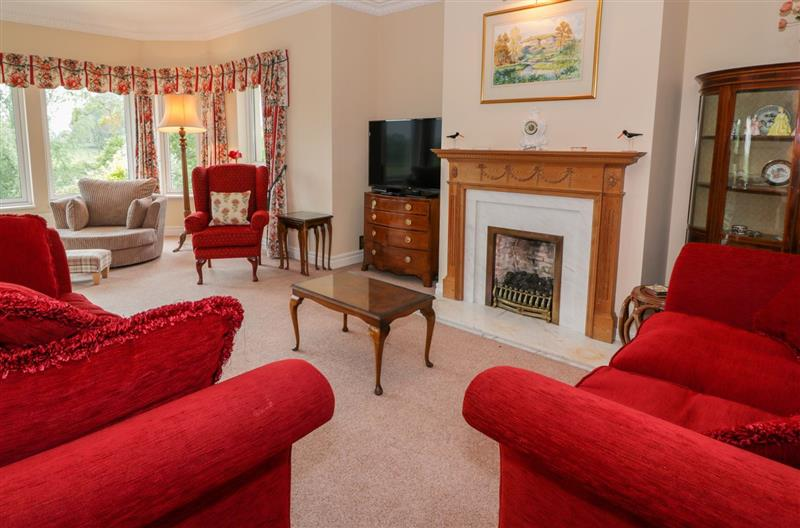 Living room in Sevenacres, Ednam near Kelso