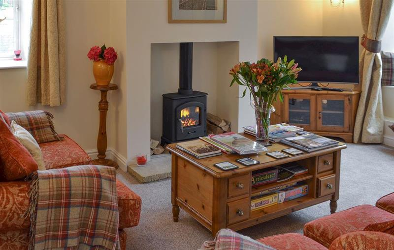 Living room in Shelduck Cottage, Holmfirth